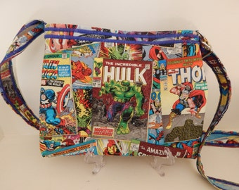 Crossbody Bag-Superhero