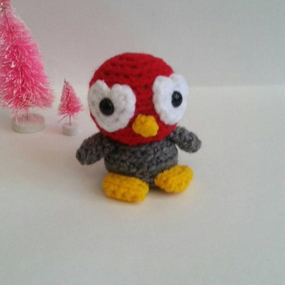 Valentines Day Mini Amigurumi Penguin by FairylandAmigurumi