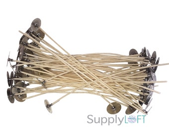 "Rigid Candle Wicks 2.486 6"" 25 PACK - INTRODUCTORY PRICE"