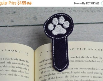 Paw Print Bookmark