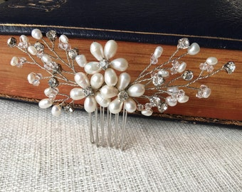 Bridal hair comb, wedding hair comb, bridal accessories, bridal hair accessories, bridal hair piece, bridal headpiece, wedding comb, bridal
