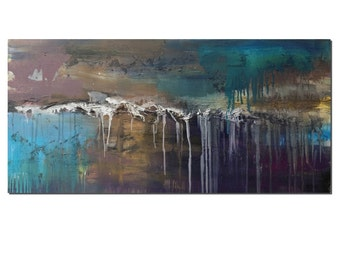 Landscape Painting, Original Painting, Abstract Art, Large Wall Art, Canvas Painting, Oil Painting, Canvas Art, Abstract Painting, Large Art