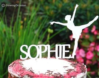 Ballerina Personalised Cake Topper