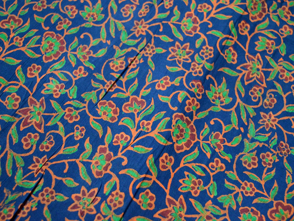 Hand printed fabric block print cotton fabric cotton for Printed cotton fabric