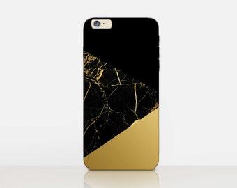 Marble Print Case For- iPhone 8, 8 Plus, X, iPhone 7 Plus, 7, SE, 5, 6S Plus, 6S, 6 Plus, Samsung S8, S8 Plus, S7, S7 Edge