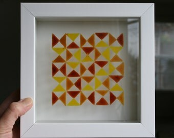 Yellow and Red Triangles