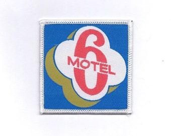 Vintage Motel 6 -Biker Patch