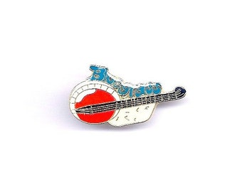 Vintage Bluegrass Country Music with Banjo Hat/Pin