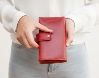 Haeute wallet for women and men, finest handwork made in Germany, leather wallet