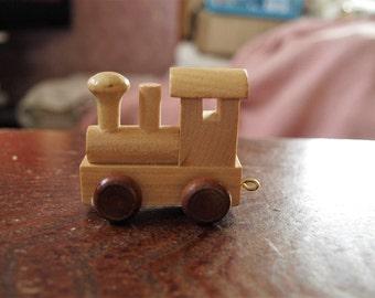 Wooden Train Engine