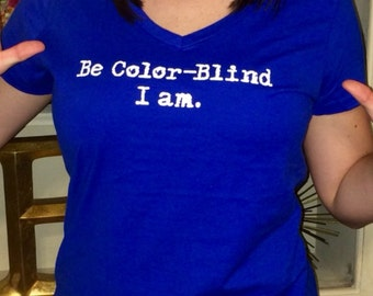 Be Color-Blind