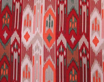 "100% Rayon challis Native American inspired print 56/58"" w Fabric by the yard"