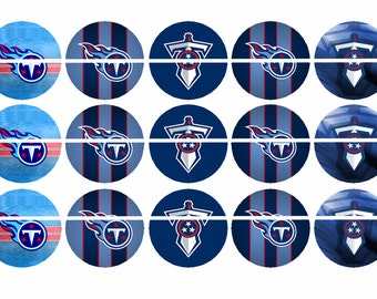 TENNESSEE TITANS Three 4 x 6 Images Bottle Cap Images Instant Download Digital Printable Images Instant Download Bottlecap 1 Inch Circle