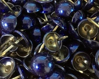 100pcs Upholstery Tack Decorative Nails PTG BLUE (082)