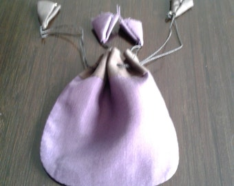 Silk Jewelry Bag, Silk Jewelry Pouch, Drawstring Jewelry Bag