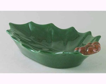 Ceramic Holly Candy Dish