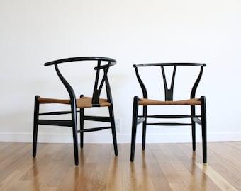 Mid Century Hans Wegner CH24 Wishbone Chair