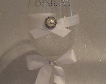 Bridal Wine Glass