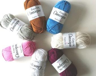 Stylecraft Classique Cotton yarn wool 50g - Fondant pink