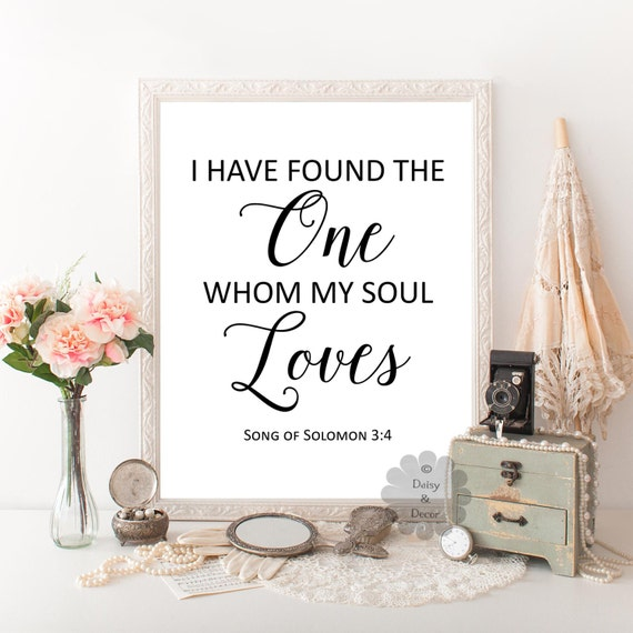 Song Of Solomon 3 4 For I Have Found The One Whom My Soul