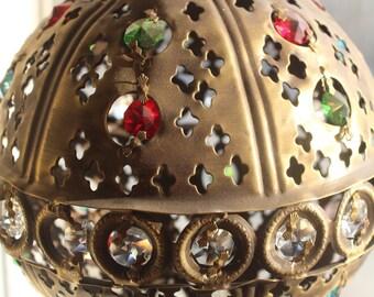 Hanging lamp, moroccan lamp,moroccan pendant,ceiling lamp,ceiling fixture,moroccan light,moroccan lantern,mosaic lantern