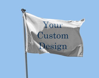 Double Sided Custom Flag 3'x5' Full Colour no set up fees