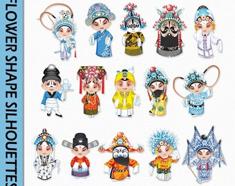 Asian clipart | Etsy