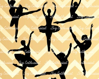 10 Dancers SVG cut files, Ballerina SVG files, Hip hop dancers svg, Cricut, Dxf, PNG, Vinyl, Eps, Cut Files, Clip Art, Vector, Silhouette