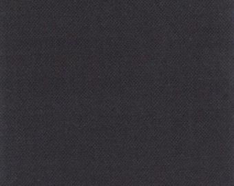 MODA - Bella Solids - Charcoal - 9900-284 - Very Dark Grey - Light Black - Solid Color