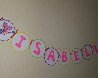 Seseme street Name banner