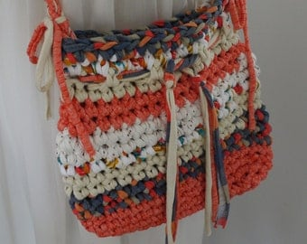 Crochet purse, bag boho chic, summer bag,