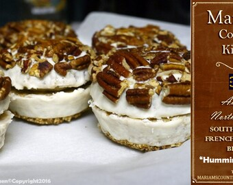 """6 """"Hummingbird Cake"""" - NC Southern Style French Macaroon Biscuits"""