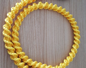 Paracord MicroUSB-USB cable