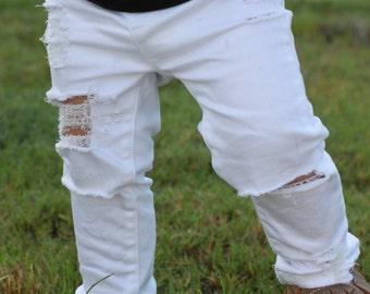 OG Black Skinnies // Distressed Black Skinny Jeans for