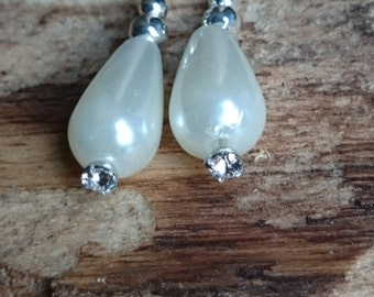 Teardrop Bead earrings # 151