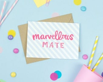 Marvellous Mate Card