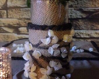 Woodland Wedding Vase Dress