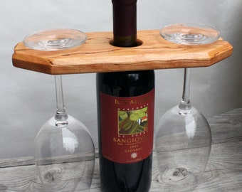 Curly Cherry Wine Caddy