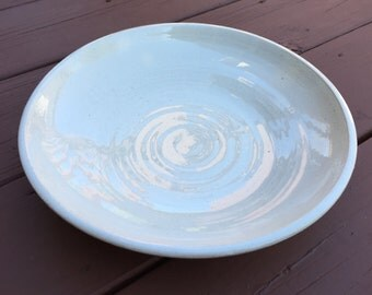 "Serving Platter, approx. 12""D - white"