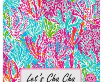 Lilly Pulitzer Monogrammed Decal Personalized