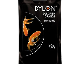 Goldfish Orange Dylon
