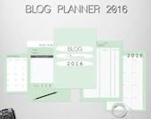 Blogs Planner 2016-format A4
