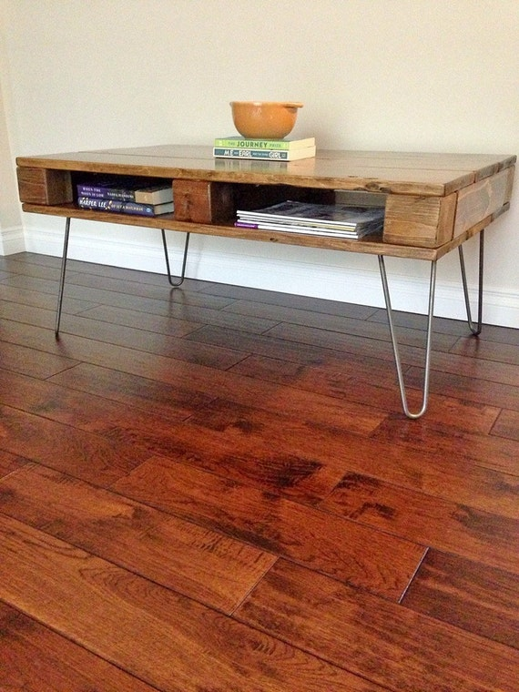 Pallet Coffee Table By Ruztikcharms On Etsy