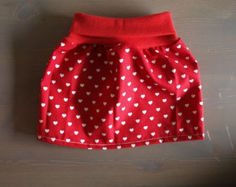 "organic skirt ""Sweetheart"""