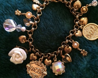 French Charm Bracelet