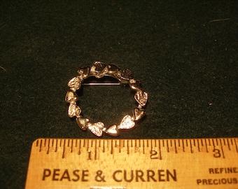 GERRYS Heart Wreath Brooch(97)