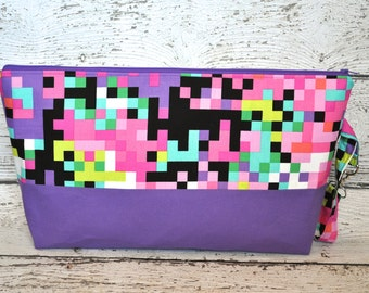 Zippered Water Resistant Baby Carrier Bag, Matches Tula Pixelated