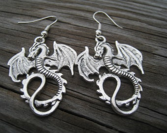 Dragon earrings-Free Shipping