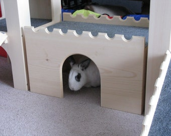 """Bunny Fort with """"Circle"""" design"""