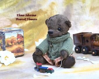 Ooak Teddy bear baby Otso